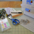 Dmc Floss Spreadsheet Throughout Tutorial: Organizing Embroidery Floss  Pdxstitch
