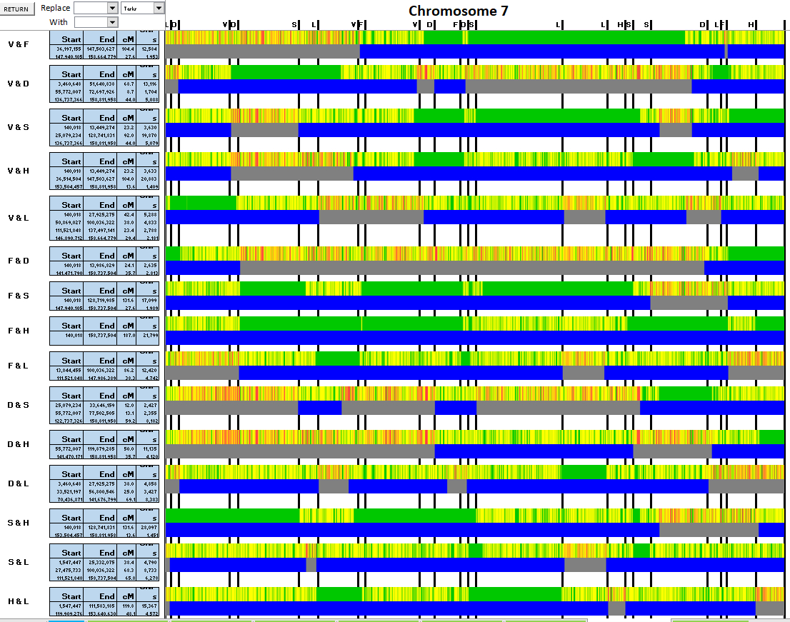 Dna Match Spreadsheet Intended For Joel@jmhartley – Page 6 – Hartley Dna  Genealogy