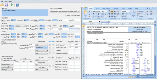 Dnv Os F101 Spreadsheet In Dnv Os Spreadsheet Pdf Free Span Design According To The Rp For