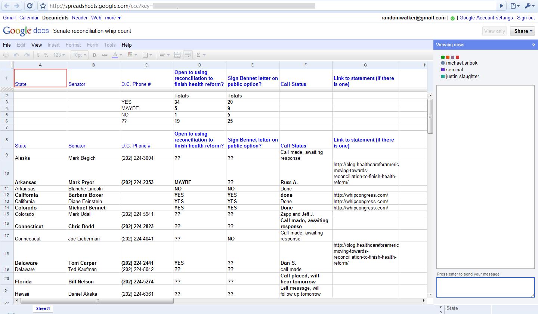Docs Spreadsheet Regarding How Google Docs Leaks Your Identity  33 Bits Of Entropy