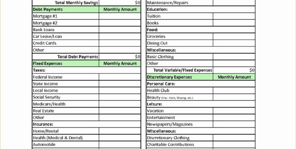 Donation Spreadsheet In Charitable Donation Worksheet Spreadsheet Template Donations 2018