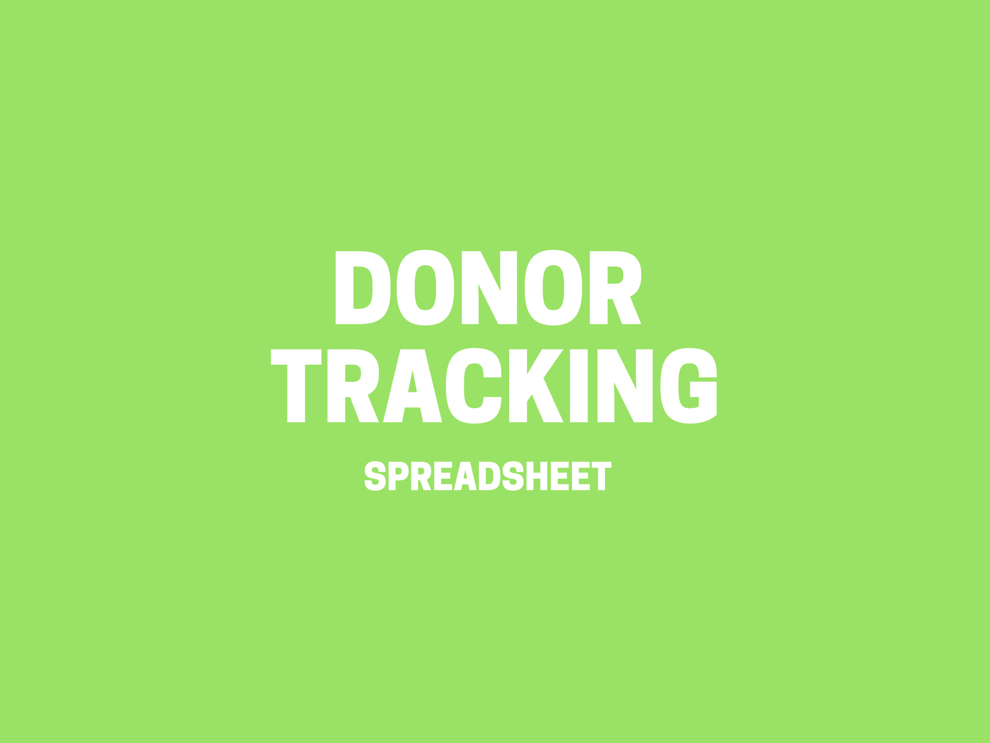 Donation Tracking Spreadsheet Inside Donor Tracking Spreadsheet > Donor Management Excel