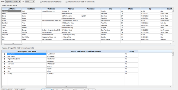 Donor Management Spreadsheet In Features – Donorquest Fundraising Software