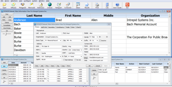 Donor Management Spreadsheet Intended For Features – Donorquest Fundraising Software