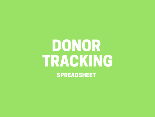 Donor Tracking Spreadsheet Inside Donor Tracking Spreadsheet > Donor Management Excel