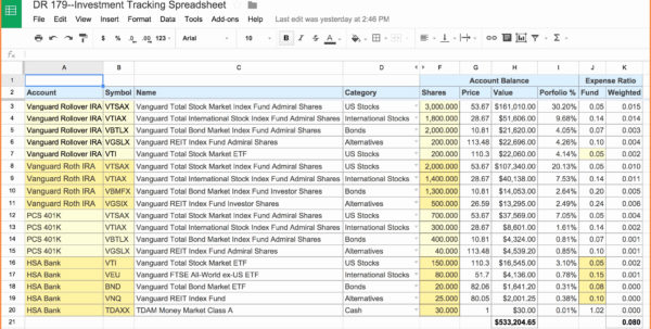 Double Entry Bookkeeping Excel Spreadsheet Free With Spreadsheet Example Of Simple Accounting Template Youtube