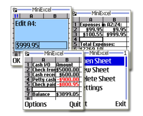 Download Spreadsheet App Inside Miniexcel For Java  Download