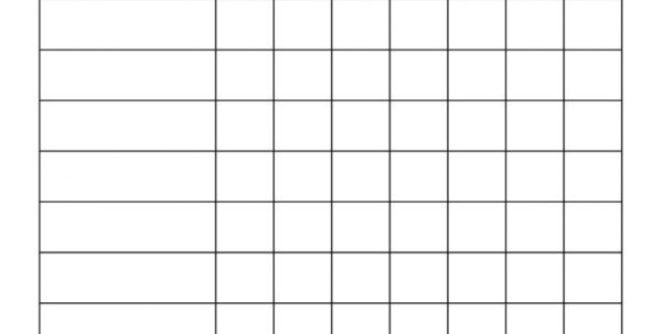 Downloadable Coupon Spreadsheet In Blank Worksheet Templates Printable Coupons Free Brochures For