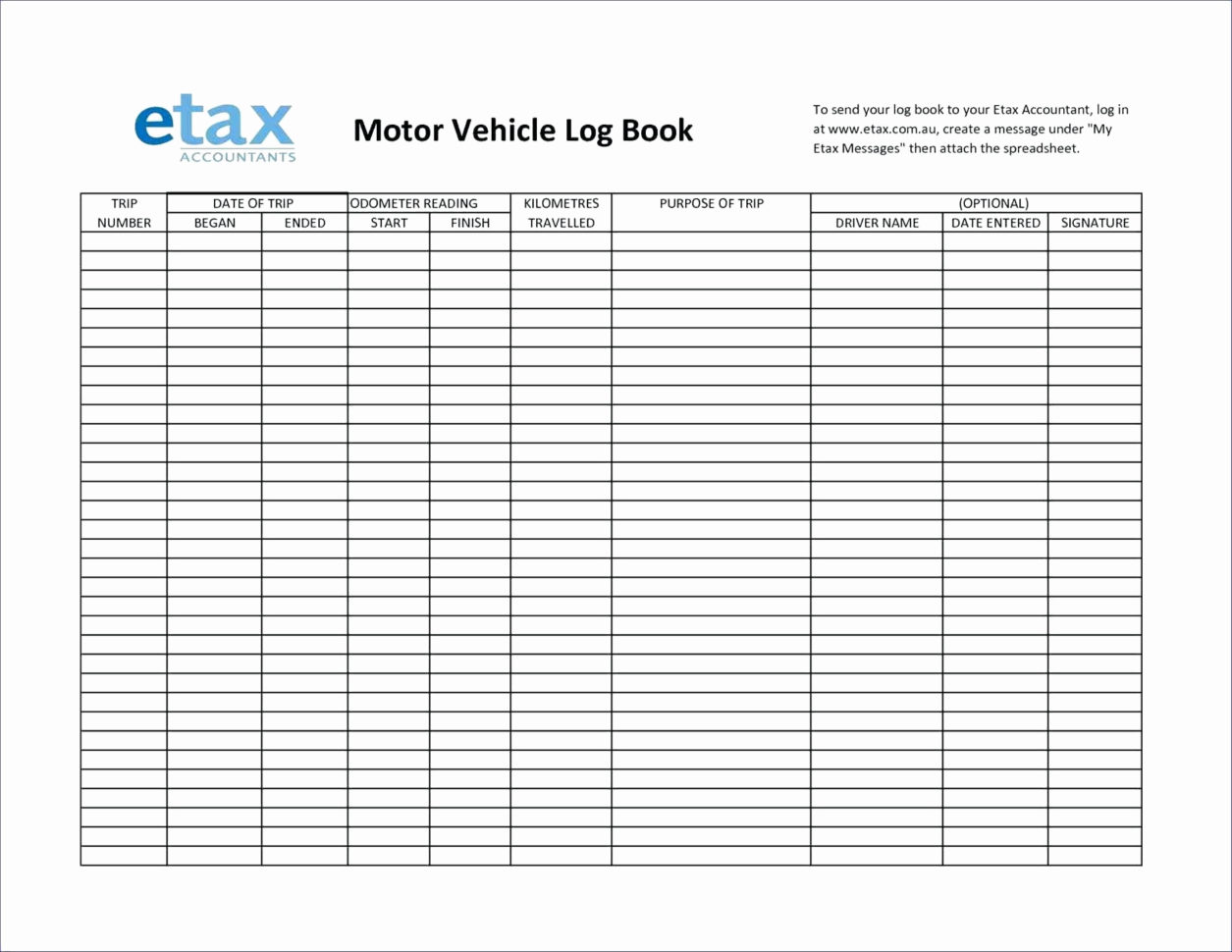 Driver Log Book Auditing Spreadsheet Within Prospect Tracking Spreadsheet Template Ato Motor Vehicle Log Book