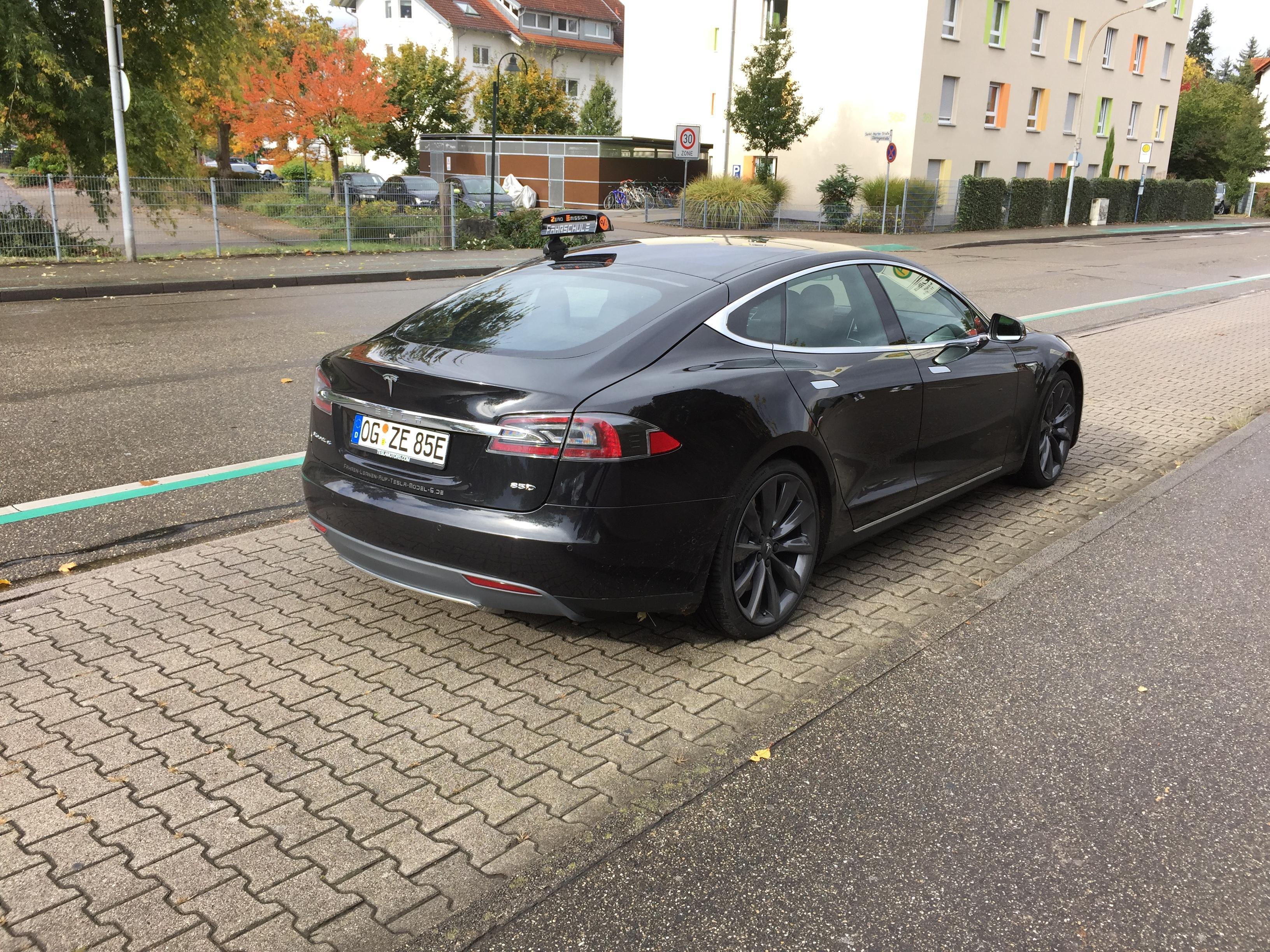 Driving Instructor Accounts Spreadsheet Pertaining To Driving School Tesla! Seen In Germany : Teslamotors