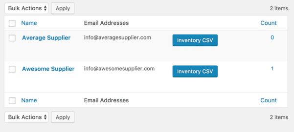 Drop Shipping Spreadsheet In Woocommerce Dropshipping  Woocommerce Docs