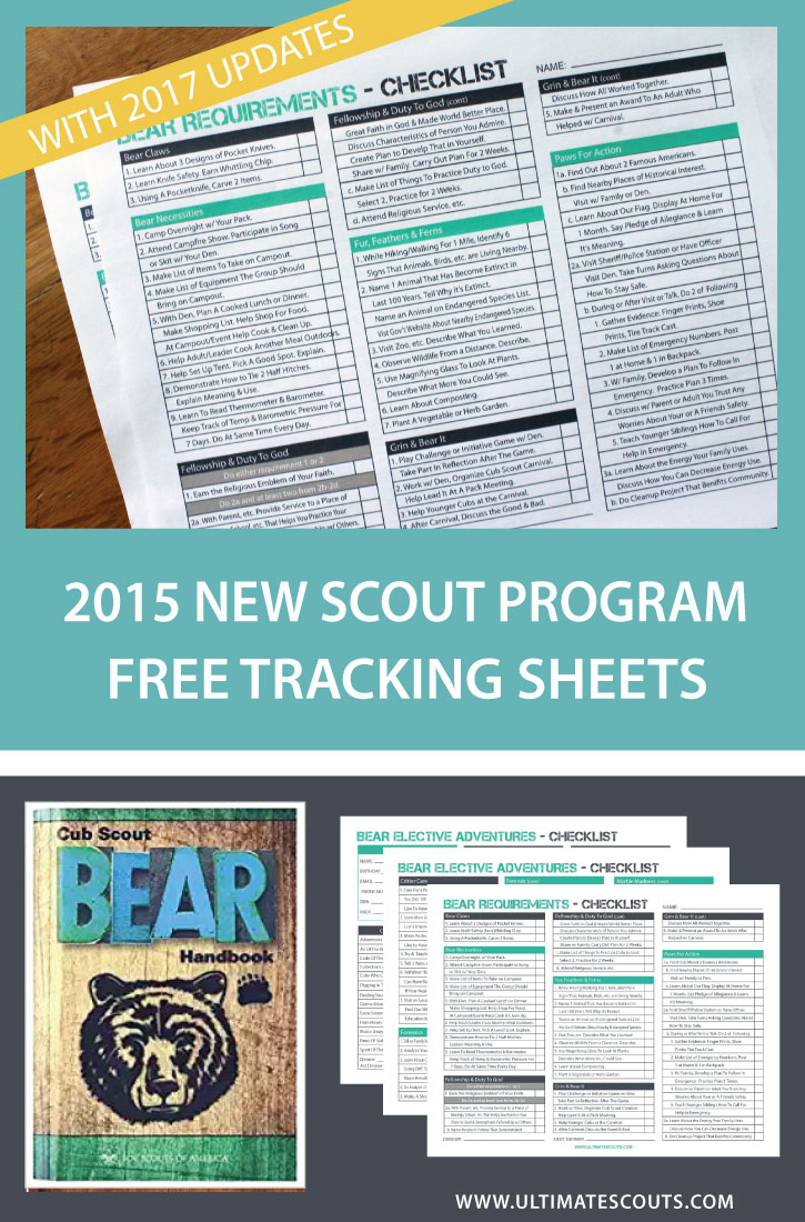 Duty To God Tracking Spreadsheet intended for New Bear Cub Scout Tracking Sheets – Free Printables Updated