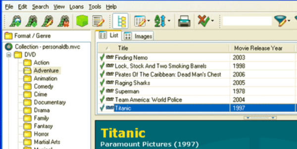 Dvd Inventory Spreadsheet In Five Best Movie Cataloging Tools