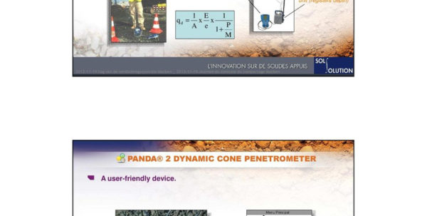 Dynamic Cone Penetrometer Excel Spreadsheet In Panda 2 Dynamic Cone Penetrometer For Compaction Control And Soil
