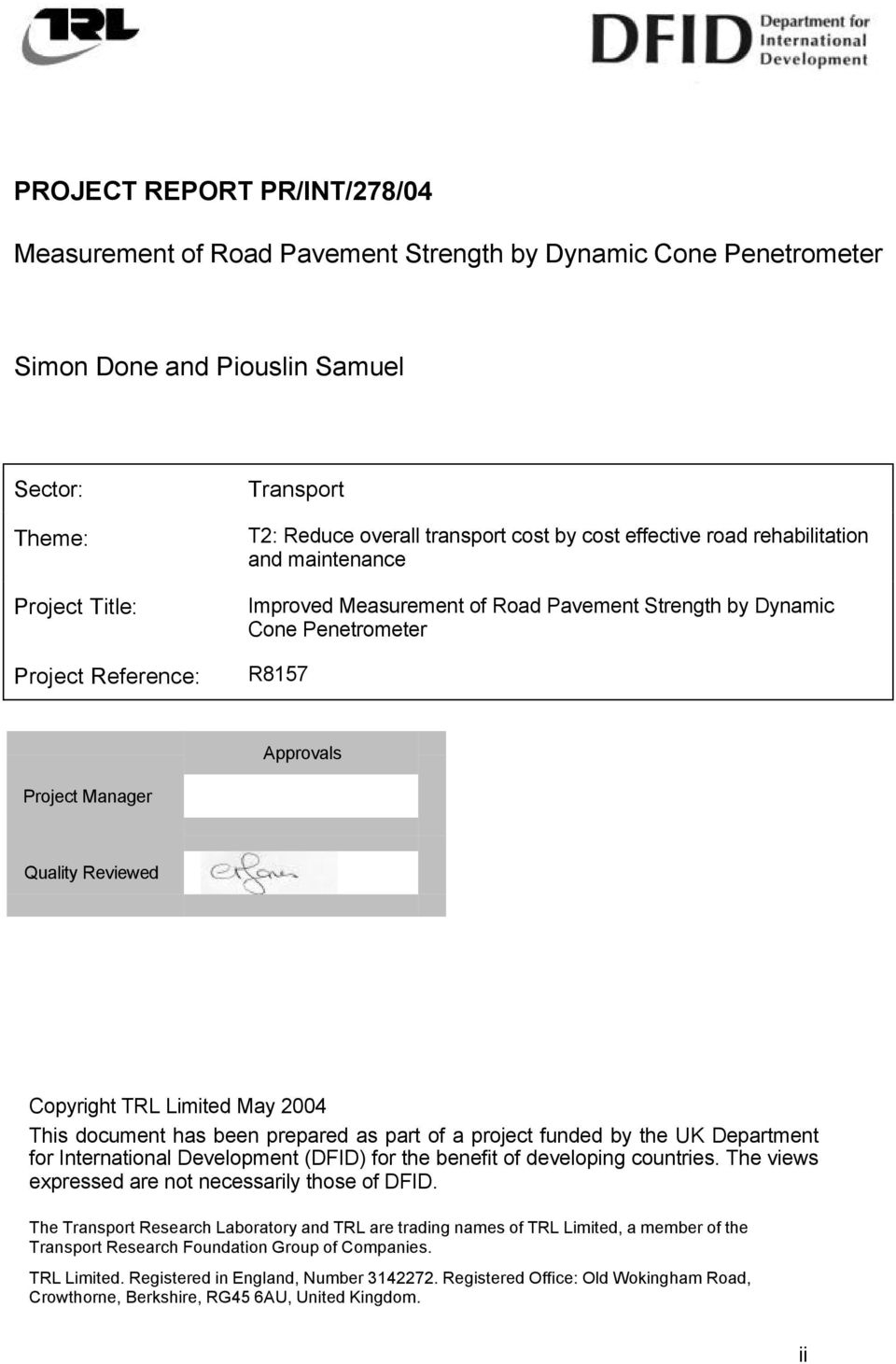 Dynamic Cone Penetrometer Excel Spreadsheet In User Manual Uk Dcp Pdf