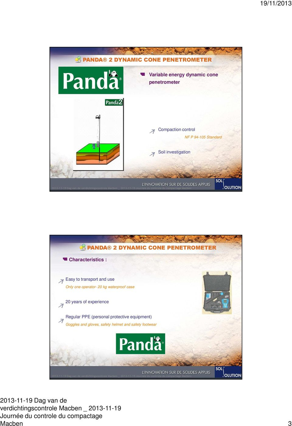 Dynamic Cone Penetrometer Excel Spreadsheet Within Panda 2 Dynamic Cone Penetrometer For Compaction Control And Soil
