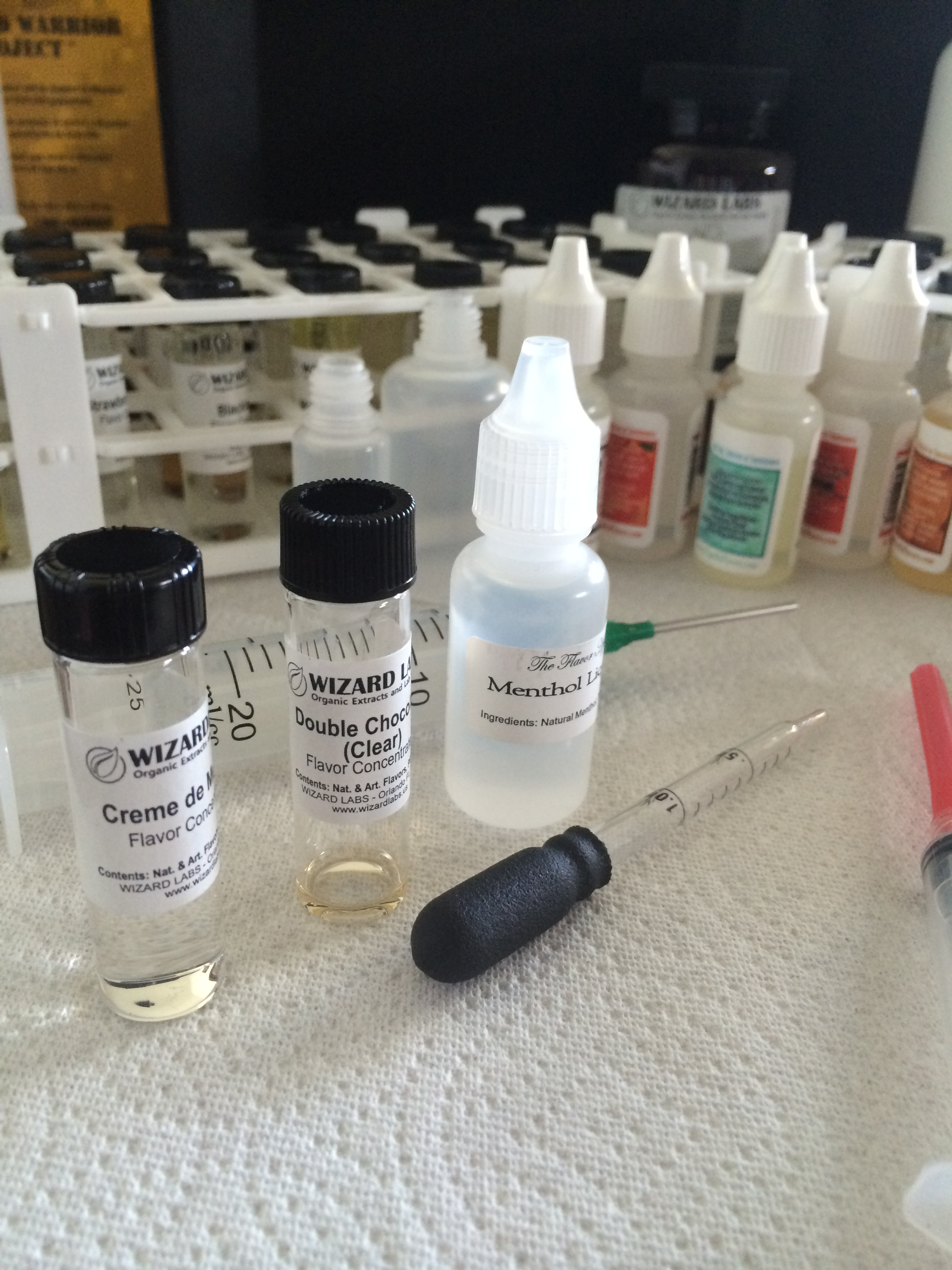 E Juice Recipe Spreadsheet For Getting Started: Diy 101 – Mixing Your Own Eliquid  God Of Steam