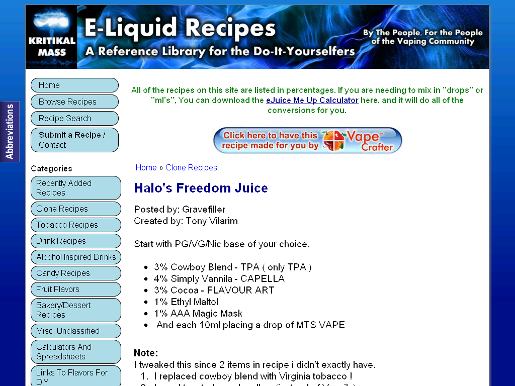 E Juice Recipe Spreadsheet With E Liquid Recipe Spreadsheet  Kayarecipe.co