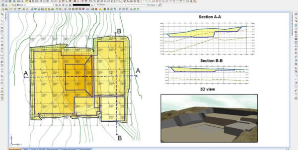 Earthworks Cut And Fill Calculations Spreadsheet Intended For Earthworks Cut And Fill Calculations Spreadsheet  Homebiz4U2Profit