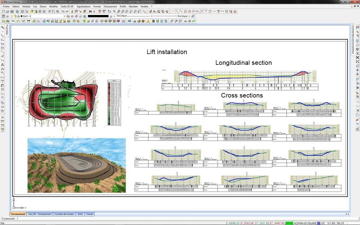 Earthworks Cut And Fill Calculations Spreadsheet With Regard To Calculate Cut And Fill Volume, Retention Basin Calculation  Geomensura