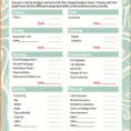 Easy Budget Spreadsheet Free Throughout Easy Budget Forms  Kasare.annafora.co
