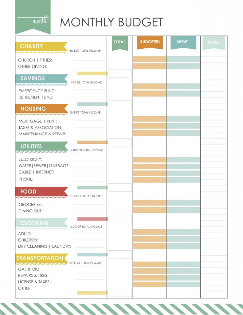Easy Budget Spreadsheet Free Within Sheet Printable Budget Spreadsheet Easy Budgetingrksheetsrksheet