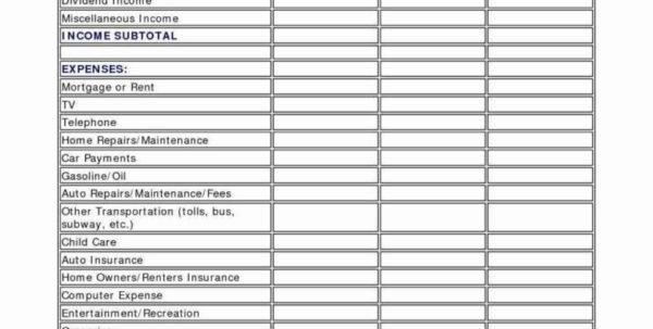 Easy Household Budget Spreadsheet Intended For Sample Home Budget Worksheet Easy Household Spreadsheet Template