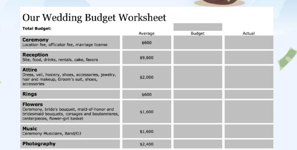 Easy Monthly Budget Spreadsheet Intended For 15 Easytouse Budget Templates  Gobankingrates Easy Monthly Budget Spreadsheet Google Spreadsheet