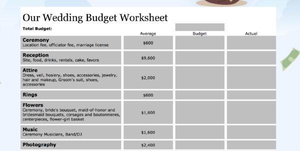 Easy Monthly Budget Spreadsheet Intended For 15 Easytouse Budget Templates  Gobankingrates Easy Monthly Budget Spreadsheet Google Spreadsheet