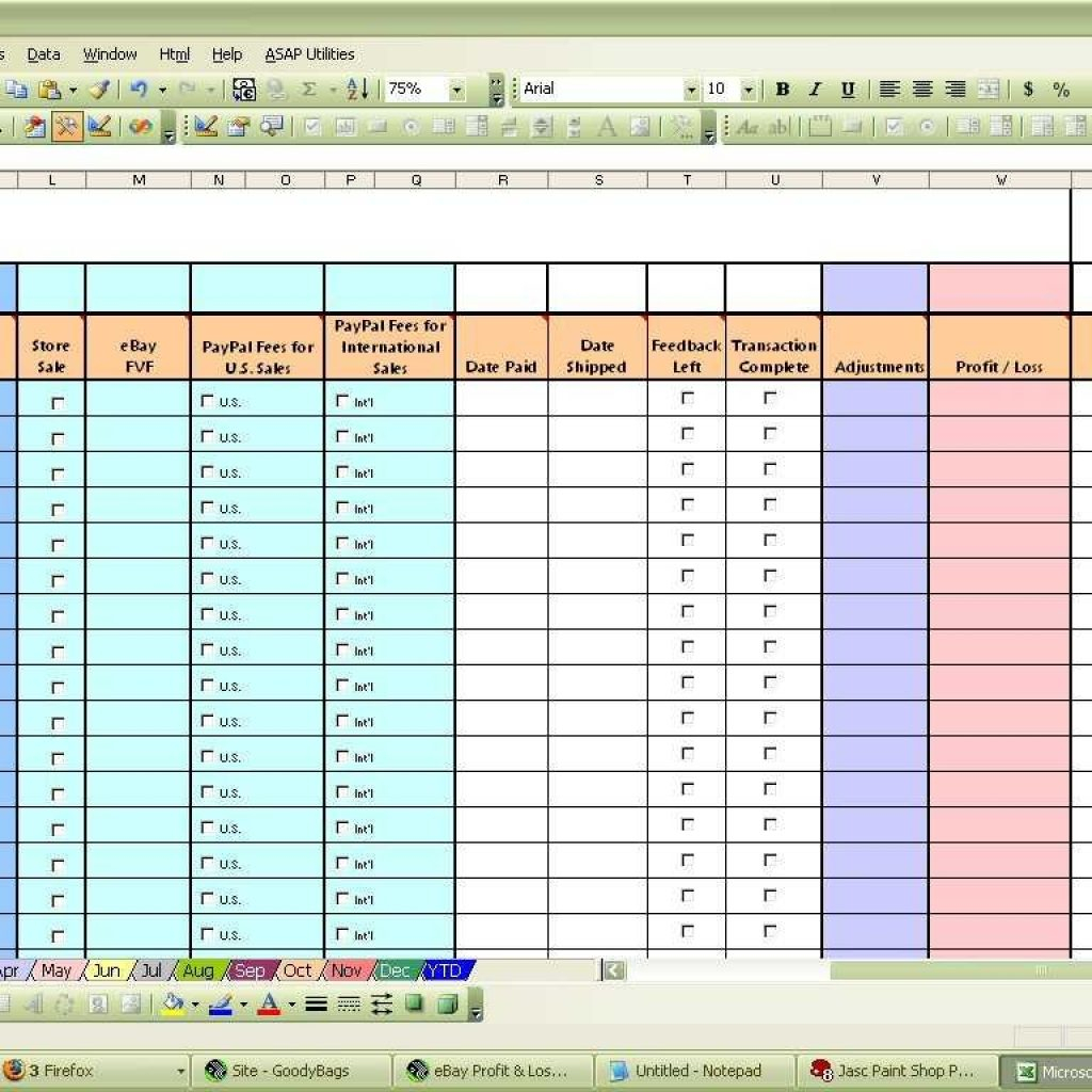 Ebay Inventory Tracking Spreadsheet Within Ebay Inventory Excel Template And Ebay Inventory Tracking Throughout