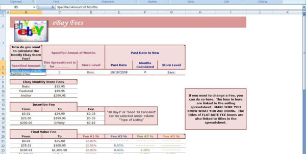 Ebay Spreadsheet Free Within Ebay Excel Spreadsheet Download For Sales On  Pywrapper