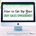 Ebay Spreadsheet In How To Set Up Your Ebay Sales Spreadsheet  Inexpensive Ebay Sales