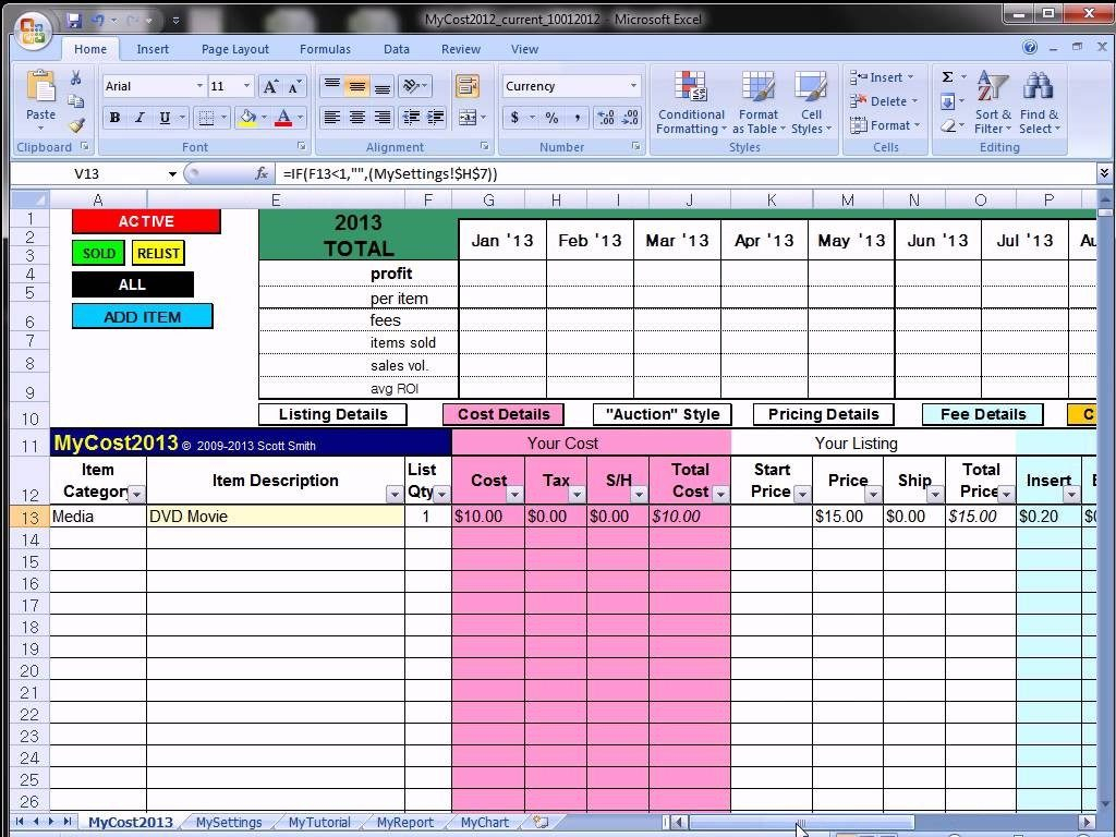Ebay Spreadsheet Regarding Ebay Inventory Spreadsheet Free Template Excel Invoice Best
