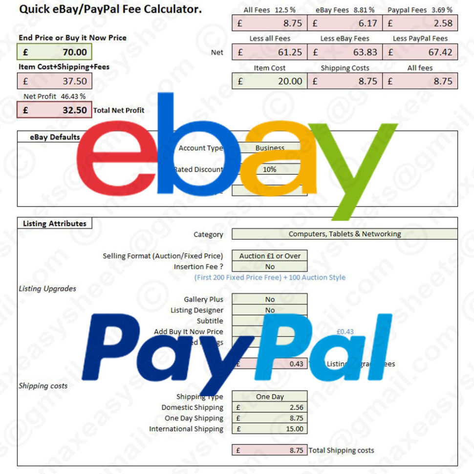 Ebay Spreadsheet Template Uk Pertaining To Ebay Spreadsheet Template Uk – Spreadsheet Collections