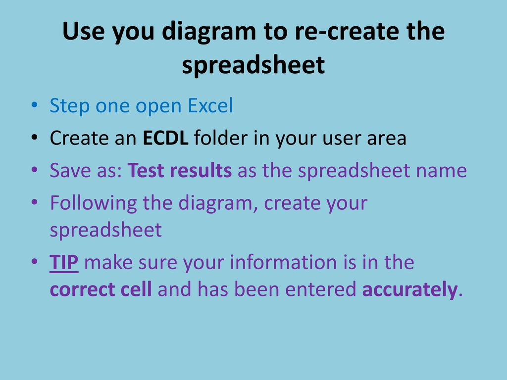 Ecdl Spreadsheet Test In Ecdl Ecdl Is An Important Building Block, Equipping You With The