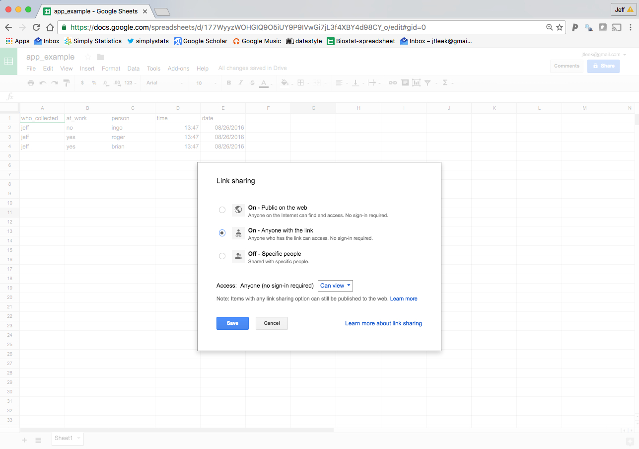 """Edit Google Spreadsheet Intended For How To Create A Free Distributed Data Collection """"app"""" With R And"""