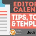 Editorial Calendar Spreadsheet In Editorial Calendar Tips, Tools, And Templates