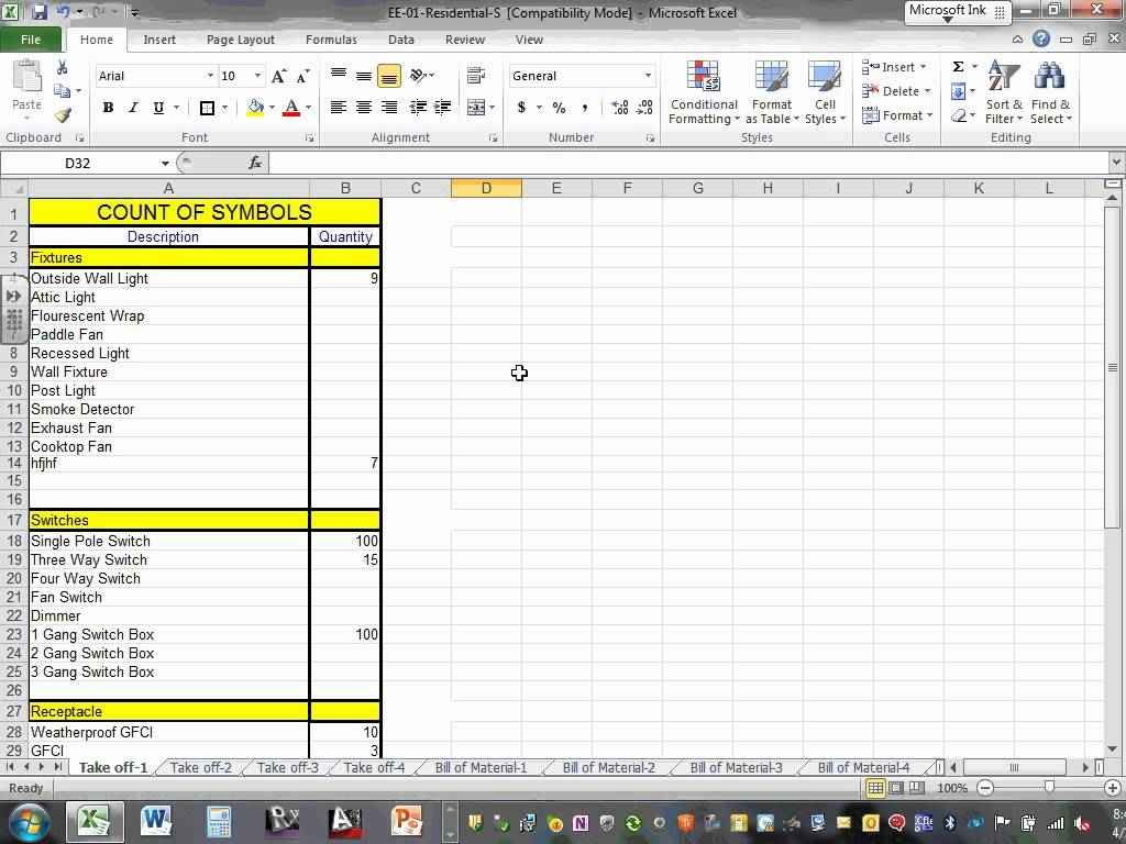 Electrical Estimating Spreadsheet Template For Free Electrical Estimating Spreadsheet With Plus Download Together