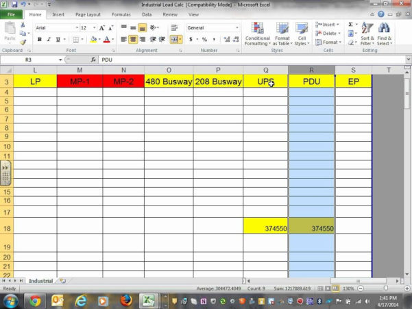 Electrical Load Calculation Spreadsheet Within Commercial Electrical Load Calculation Spreadsheet  Aljererlotgd