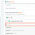 Email Data To Google Spreadsheet Intended For Google Sheets  Integration Help  Support  Zapier