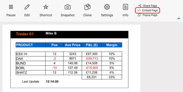 Embed Spreadsheet In Website Intended For Plugin Support  Ipushpull