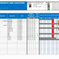 Employee Absence Tracker Spreadsheet In 012 Excel Pto Tracker Template Awesome Employee Scheduling
