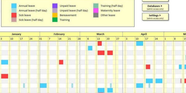 Employee Absence Tracker Spreadsheet Inside Employee Attendance Tracking Spreadsheet Free Tracker Template Excel