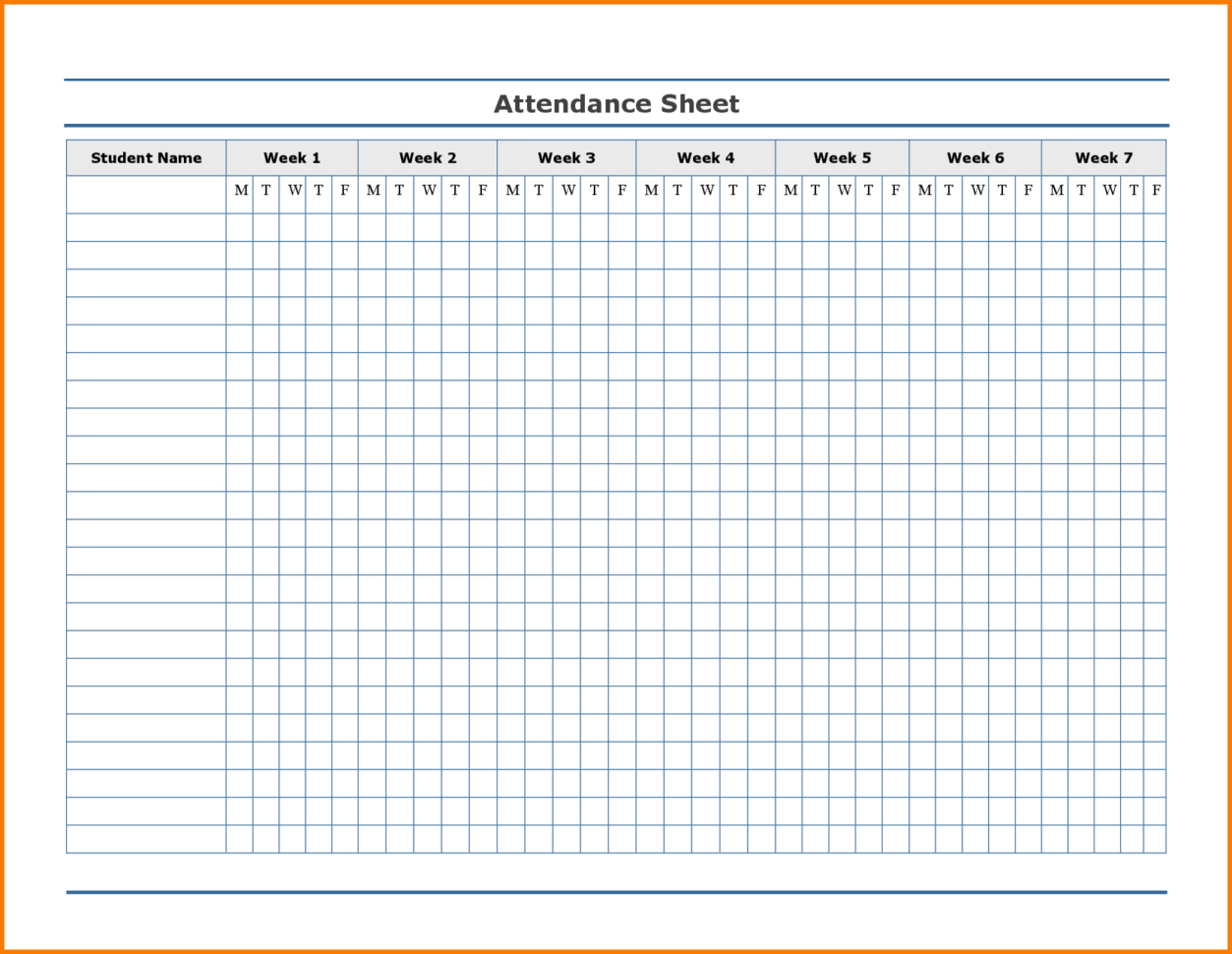 Employee Annual Leave Record Spreadsheet Within Free Employee Attendance Calendar  Employee Tracker Templates 2019