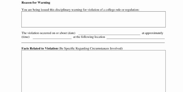 Employee Discipline Tracking Spreadsheet For Free Employee Disciplinary Action Discipline Form Pdf Word Forms