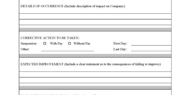 Employee Discipline Tracking Spreadsheet Inside Form Samples Employee Write Up Pdf Free Disciplinary Template Forms Employee Discipline Tracking Spreadsheet Spreadsheet Download