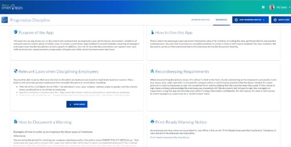 Employee Discipline Tracking Spreadsheet With Regard To Employee Warning Notice  Progressive Discipline Form Software