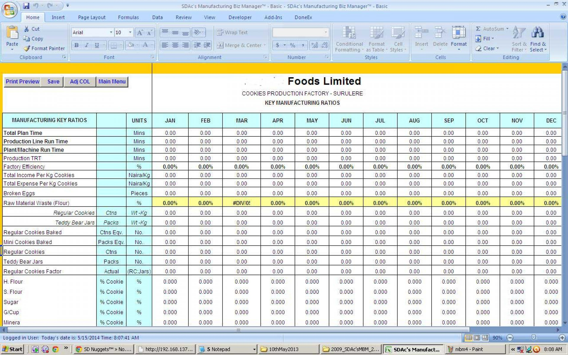Employee Performance Tracking Spreadsheet Regarding 006 Employee Performance Tracking Template Excel Tv Show Production