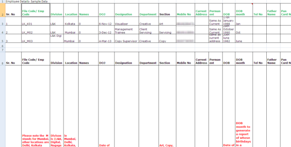 Employee Point System Spreadsheet Inside The Rise And Fall Of Spreadsheets In Hr Management  Hr Spreadsheets