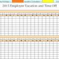 Employee Pto Tracking Spreadsheet Regarding 002 Employee Vacation Dashboard Full View Excel Pto Tracker Template
